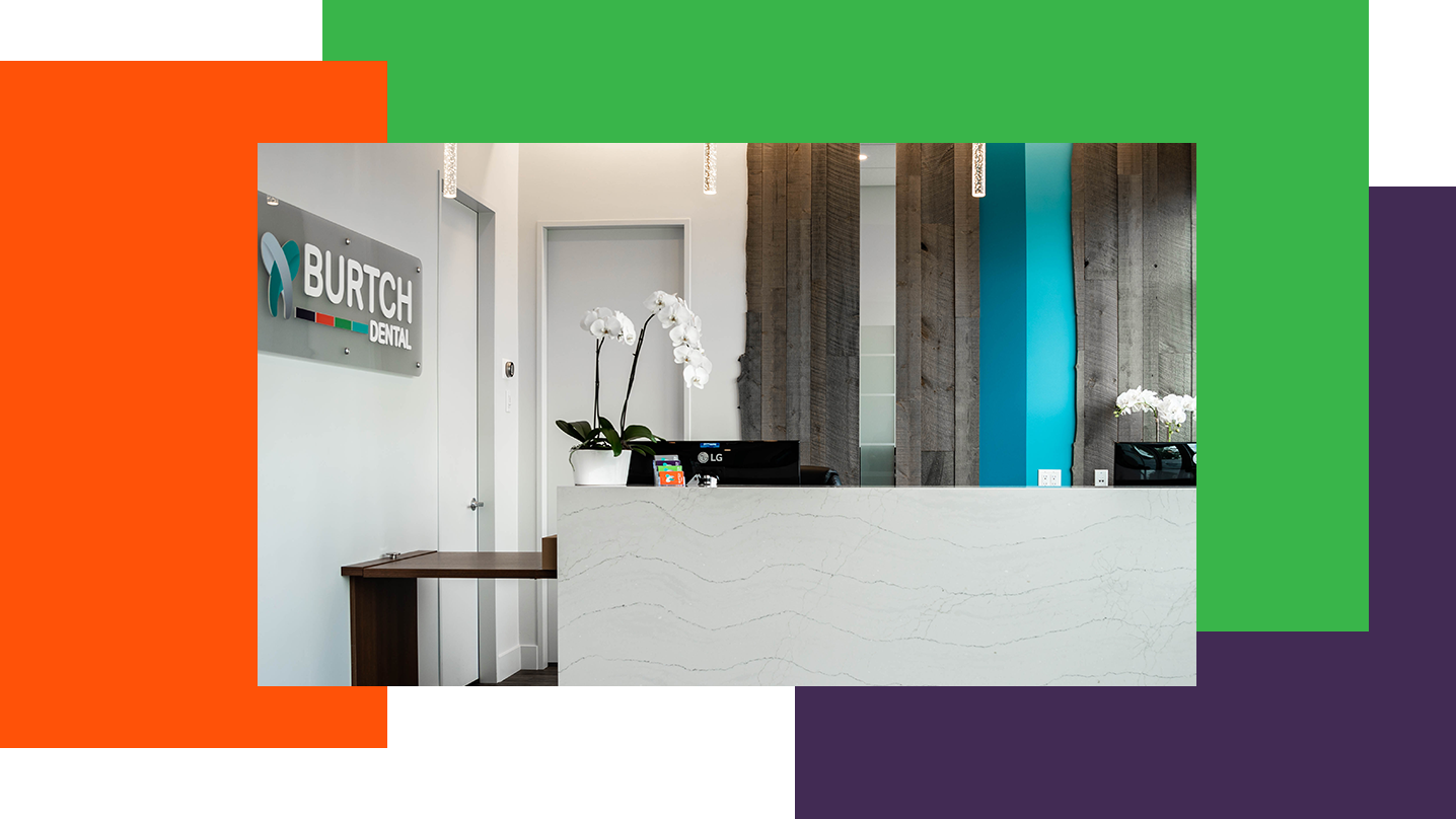 Dentists Kelowna | Burtch Dental | Office Divider
